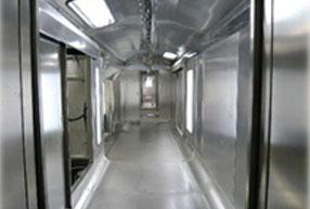 流水设备控制室